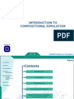Compositional simulation