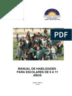 MANUAL DE HABILIDADES SOCIALES 8  11 AÑOS