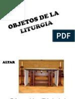 Objeos de La Liturgia