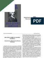 ROUSSEAU - Discurso Sobre Economia Politica