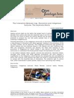 Ibarra, L., 2011. the Interaction Between Law, Economics and Indigenous Cultures