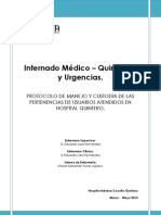 Informe Internado 2013