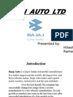 Bajaj Auto Ltd