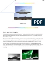Bob Lazar UFO - Sport Model