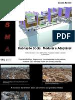 Habitação Social Modular Adaptável - Liciara