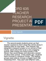 teacher research presentation