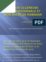 Maladie Ulcereuse Gastro-duodenale Et Mois Sacre de Ramadan (2)