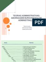 MPU 4 - Abordagem Burocrática de Administração