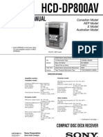 Sony Hcd - Dp800av_ver1.2