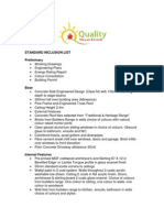 QHL Inclusion List