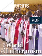 2013 - Lutherans Engage the World - July-August