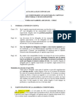 Formato Acta Eleccin Delegados Comunidades Al Ci 2013