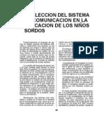 Eleccion Sistema de Comunicacion