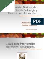 17 ENC D EST PED Y CE Taller intervención pedagógica 2008