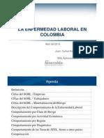 Enfermedad Laboral en Colombia Fasecolda