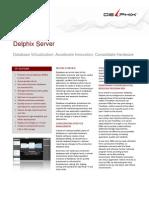 Delphix Data Sheet