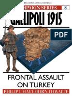 Osprey - Campaign - Gallipoli 1915