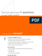 9 questions to ask your India based usability research vendor
