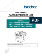 Brother Dcp8080dn_mfc8480dn_mfc8890dw Parts Manual