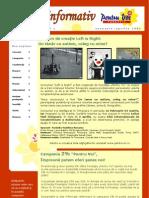 Newsletter Martie 2009 RO