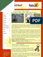 Newsletter March 2009