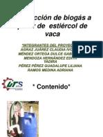 TRATAMIENTO DE ESTIÉRCOL VACUNO,presentacion