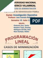 Programación Lineal (Casos de minimización)_Grupo 3
