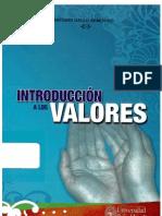 Gallo, Antonio - Introducción a los valores
