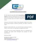 36 ALFABETOS DATILOLÓGICOS DO MUNDO
