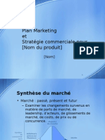 Plan Marketing - Modele Power Point