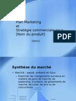 Plan Marketing - Modele Power Point