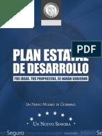 Plan Estatal de Desarrollo de Sonora