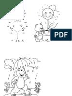 Dot to dot activity sheets