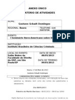 Seminario IberoAmericano Sobre Drogas