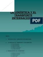 Transporte Internacional Julio 2013
