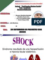 Diagnosticos de Enfermeria en Shock