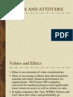 Values and Attitudes