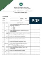 Rekod Evidens 2014 - BI T1