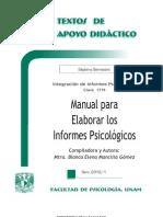 Informe Psicologico Manual