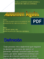 Abdomen Agudo Clase Silva