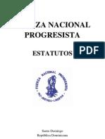 Estatutos Fuerza Nacional Progresista