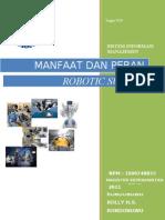 Manfaat Dan Peran Robotic Surgery
