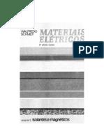 SCHMITD, Walfredo. Materiais Elétricos. Isolantes e Magnéticos. v. II