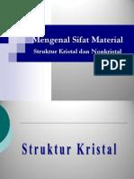 Struktur Kristal Dan Nonkristal1