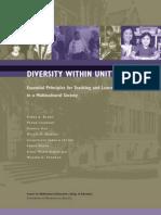 Diversity Unity