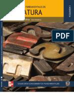 Conocimientos Fundamentales de Literatura Vol. i