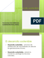 Diapositivas Inversion y Desarrollo Sostenible. Constitucion, Desarrollo y Defensa Nacional