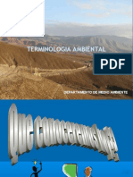 Teminologia Ambiental