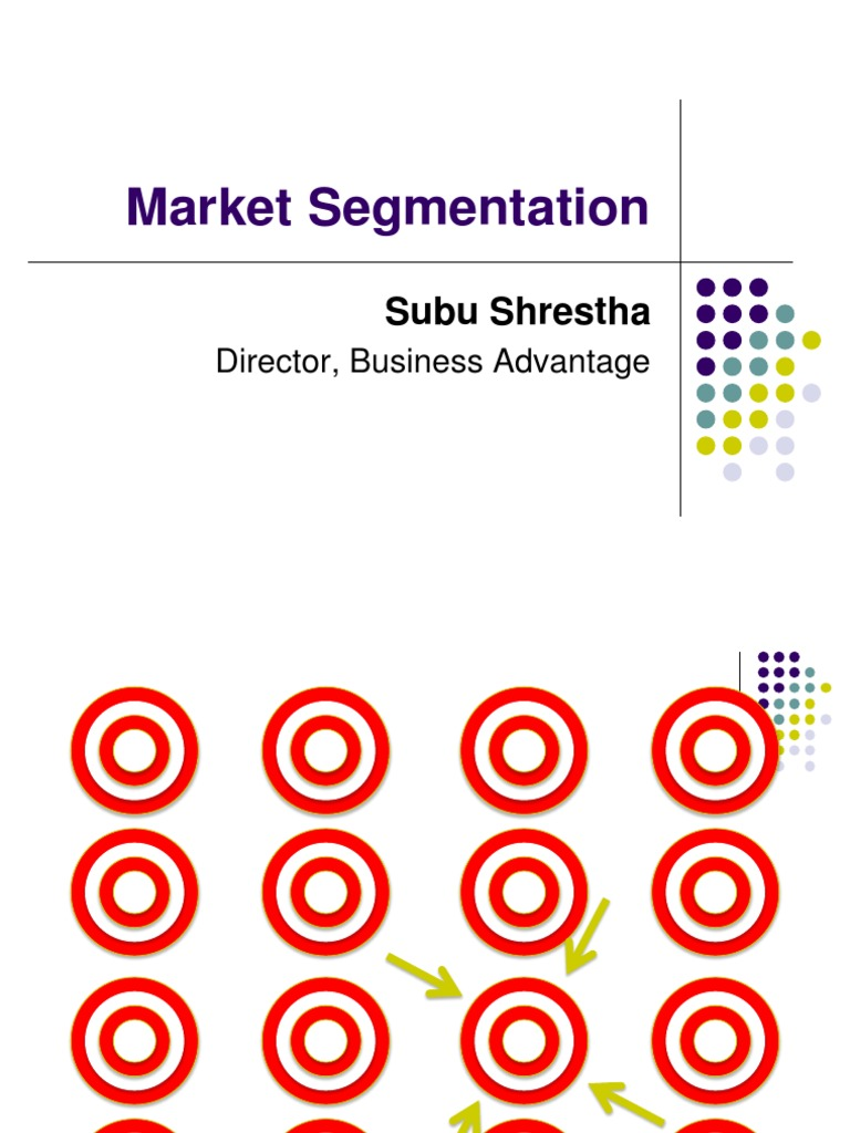 nike market segmentation