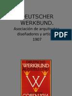 Constructivismo., Deutscher Werkbund